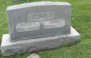 JONES, ISAAC - Jackson County, Ohio | ISAAC JONES - Ohio Gravestone Photos