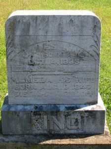 KING, ALMEDIA - Jackson County, Ohio | ALMEDIA KING - Ohio Gravestone Photos