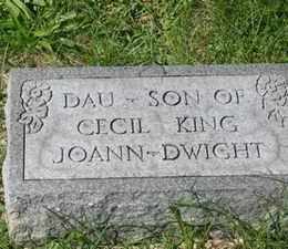 KING, JOANN - Jackson County, Ohio | JOANN KING - Ohio Gravestone Photos