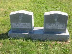 KING, JACOB - Jackson County, Ohio | JACOB KING - Ohio Gravestone Photos