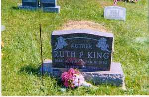 KING, RUTH  P. - Jackson County, Ohio | RUTH  P. KING - Ohio Gravestone Photos