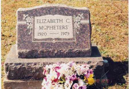 MCPHETERS, ELIZABETH - Jackson County, Ohio | ELIZABETH MCPHETERS - Ohio Gravestone Photos