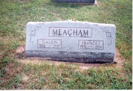 MEACHAM, FRANCES - Jackson County, Ohio | FRANCES MEACHAM - Ohio Gravestone Photos