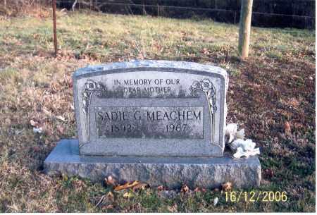 MEACHEM, SADIE G. - Jackson County, Ohio | SADIE G. MEACHEM - Ohio Gravestone Photos