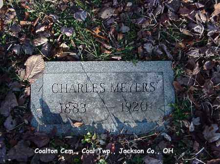 MEYERS, CHARLES - Jackson County, Ohio | CHARLES MEYERS - Ohio Gravestone Photos
