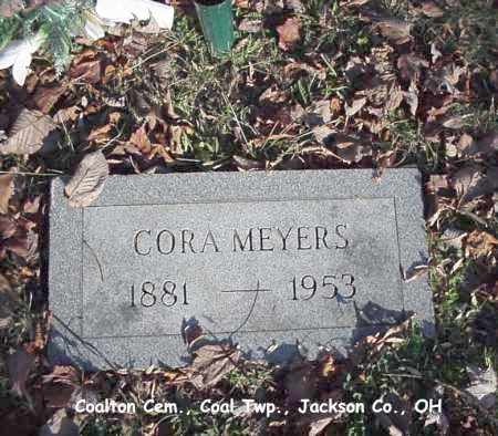 SHOOK MEYERS, CORA - Jackson County, Ohio | CORA SHOOK MEYERS - Ohio Gravestone Photos