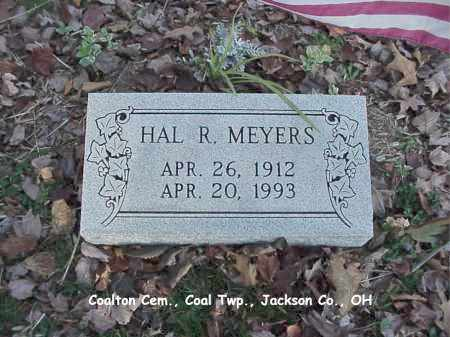 MEYERS, HAL - Jackson County, Ohio | HAL MEYERS - Ohio Gravestone Photos