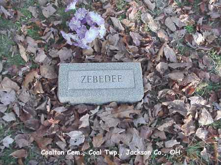 MEYERS, ZEBEDEE - Jackson County, Ohio | ZEBEDEE MEYERS - Ohio Gravestone Photos