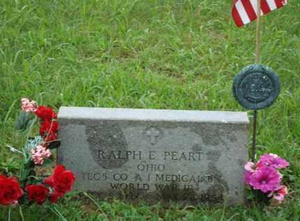PEART, RALPH E. - Jackson County, Ohio | RALPH E. PEART - Ohio Gravestone Photos