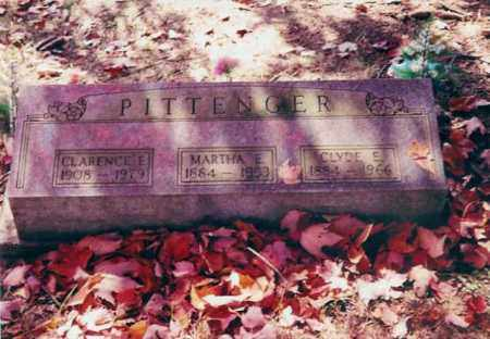 PITTENGER, MARTHA E. - Jackson County, Ohio | MARTHA E. PITTENGER - Ohio Gravestone Photos