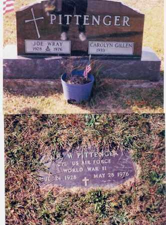 PITTENGER, JO WRAY - Jackson County, Ohio | JO WRAY PITTENGER - Ohio Gravestone Photos