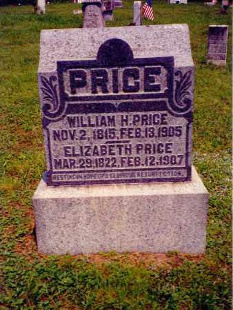 PRICE, WILLIAM H. - Jackson County, Ohio | WILLIAM H. PRICE - Ohio Gravestone Photos