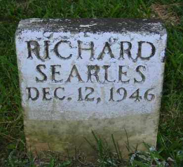 SEARLES, RICHARD - Jackson County, Ohio | RICHARD SEARLES - Ohio Gravestone Photos