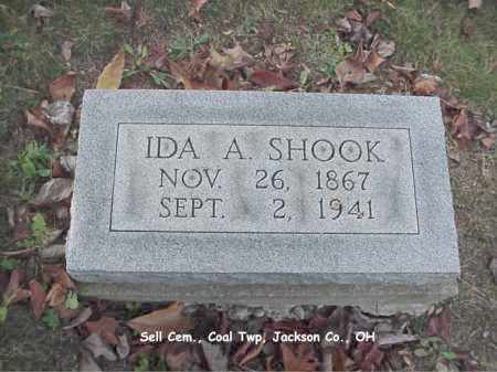 SHOOK, IDA - Jackson County, Ohio | IDA SHOOK - Ohio Gravestone Photos