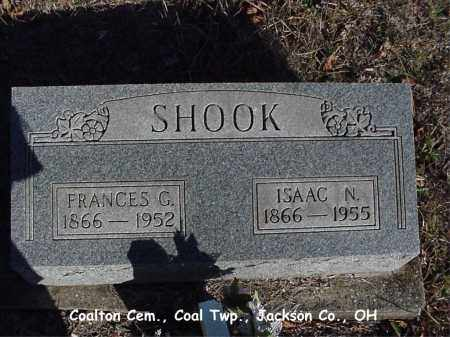 BLACKFORD SHOOK, FRANCES - Jackson County, Ohio | FRANCES BLACKFORD SHOOK - Ohio Gravestone Photos