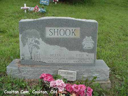 WAULK SHOOK, DESSA - Jackson County, Ohio | DESSA WAULK SHOOK - Ohio Gravestone Photos