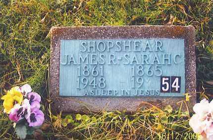 SHOPSHEAR, SARAH CHRISTINA - Jackson County, Ohio | SARAH CHRISTINA SHOPSHEAR - Ohio Gravestone Photos