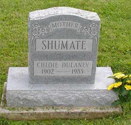 DULANEY SHUMATE, CHLOE - Jackson County, Ohio | CHLOE DULANEY SHUMATE - Ohio Gravestone Photos