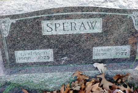 SPERAW, HARRY - Jackson County, Ohio | HARRY SPERAW - Ohio Gravestone Photos