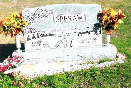 SPERAW, ROBERT DONALD - Jackson County, Ohio | ROBERT DONALD SPERAW - Ohio Gravestone Photos