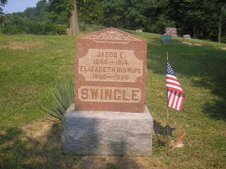 SWINGLE, ELIZABETH PERMELIA - Jackson County, Ohio | ELIZABETH PERMELIA SWINGLE - Ohio Gravestone Photos