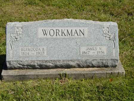 SMITH WORKMAN, BERMOODA B. - Jackson County, Ohio | BERMOODA B. SMITH WORKMAN - Ohio Gravestone Photos
