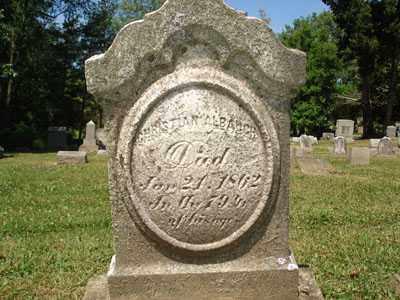 ALBAUGH, CHRISTIAN - Jefferson County, Ohio   CHRISTIAN ALBAUGH - Ohio Gravestone Photos