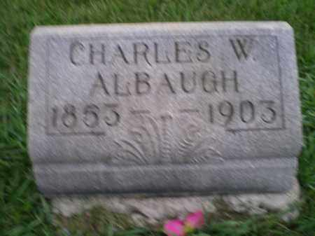 ALBAUGH, CHARLES WESLEY - Jefferson County, Ohio | CHARLES WESLEY ALBAUGH - Ohio Gravestone Photos
