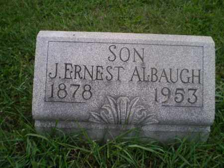 ALBAUGH, JAMES ERNEST - Jefferson County, Ohio | JAMES ERNEST ALBAUGH - Ohio Gravestone Photos