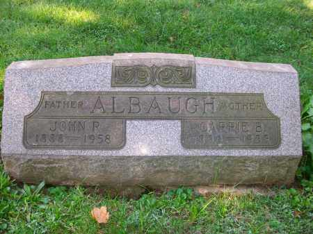 ALBAUGH, CARRIE E - Jefferson County, Ohio | CARRIE E ALBAUGH - Ohio Gravestone Photos