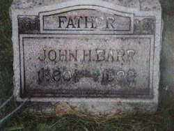 BARR, JOHN H.C. - Jefferson County, Ohio | JOHN H.C. BARR - Ohio Gravestone Photos