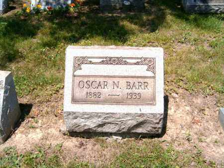 BARR, OSCAR N. - Jefferson County, Ohio | OSCAR N. BARR - Ohio Gravestone Photos