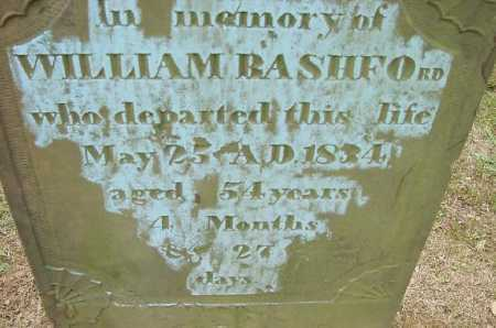 BASHFORD, WILLIAM - CLOSE VIEW - Jefferson County, Ohio | WILLIAM - CLOSE VIEW BASHFORD - Ohio Gravestone Photos