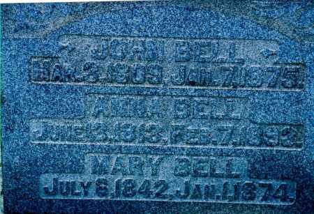 BELL, ANNIE - Jefferson County, Ohio | ANNIE BELL - Ohio Gravestone Photos