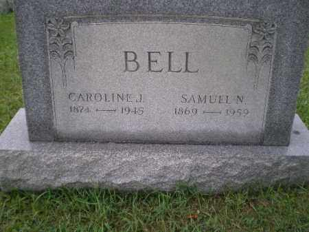 BELL, SAMUEL NICHOLAS - Jefferson County, Ohio | SAMUEL NICHOLAS BELL - Ohio Gravestone Photos