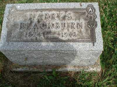 BLACKBURN, HARRY S. - Jefferson County, Ohio | HARRY S. BLACKBURN - Ohio Gravestone Photos