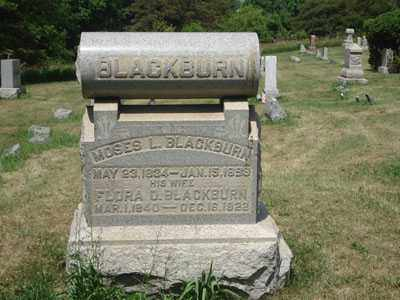 BLACKBURN, MOSES L. - Jefferson County, Ohio | MOSES L. BLACKBURN - Ohio Gravestone Photos