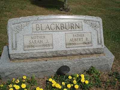 BLACKBURN, ALBERT R. - Jefferson County, Ohio | ALBERT R. BLACKBURN - Ohio Gravestone Photos