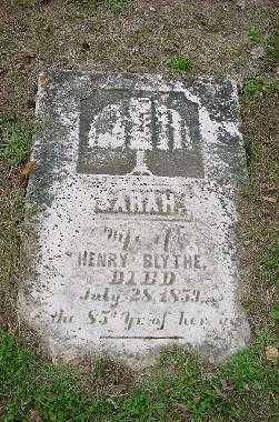 BLYTHE, SARAH MONUMENT - Jefferson County, Ohio | SARAH MONUMENT BLYTHE - Ohio Gravestone Photos