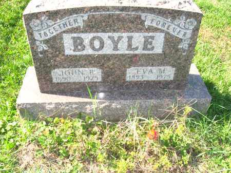 BOYLE, JOHN & EVA - Jefferson County, Ohio | JOHN & EVA BOYLE - Ohio Gravestone Photos