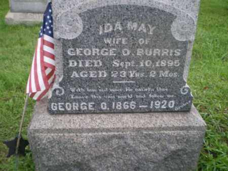 BURRIS, GEORGE OSCAR - Jefferson County, Ohio | GEORGE OSCAR BURRIS - Ohio Gravestone Photos