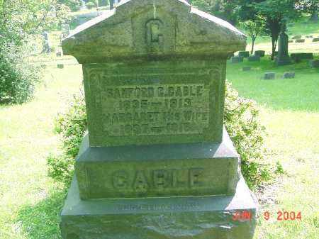 CABLE, MARGARET - Jefferson County, Ohio | MARGARET CABLE - Ohio Gravestone Photos