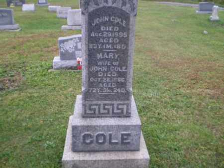 MERRYMAN COLE, MARY OPAL - Jefferson County, Ohio | MARY OPAL MERRYMAN COLE - Ohio Gravestone Photos