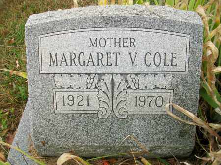 COLE, MARGARET V - Jefferson County, Ohio | MARGARET V COLE - Ohio Gravestone Photos