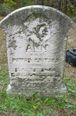 CRITSER, ANN - Jefferson County, Ohio | ANN CRITSER - Ohio Gravestone Photos