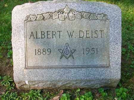 DEIST, ALBERT W - Jefferson County, Ohio | ALBERT W DEIST - Ohio Gravestone Photos