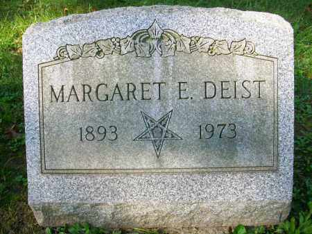 DEIST, MARGARET E - Jefferson County, Ohio | MARGARET E DEIST - Ohio Gravestone Photos