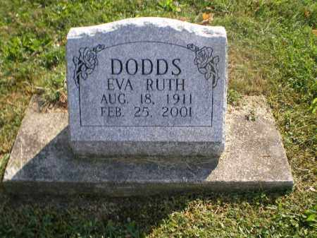 DODDS, EVA RUTH - Jefferson County, Ohio   EVA RUTH DODDS - Ohio Gravestone Photos