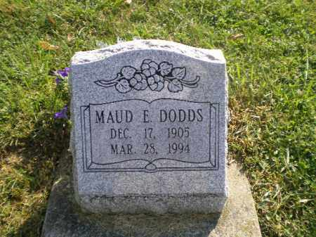 DODDS, MAUD ESTHER - Jefferson County, Ohio | MAUD ESTHER DODDS - Ohio Gravestone Photos