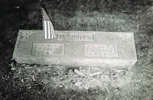 IRWIN JOSEPHINE, DE JOHN - Jefferson County, Ohio | DE JOHN IRWIN JOSEPHINE - Ohio Gravestone Photos